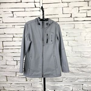 Free Country Houndstooth Jacket Fleece Lined 1652